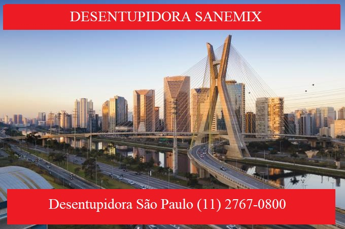 Desentupidora São Paulo